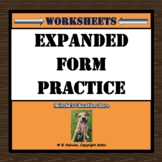 Expanded Form Worksheets for Practice