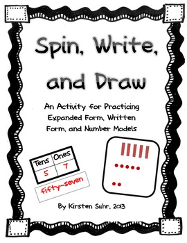 Expanded Form, Written Numbers, Modeling Place Value