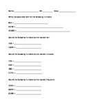 Expanded Form and Rounding Quiz