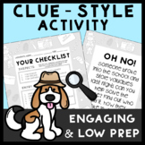 Expanded Form of Decimals Clue Style Game | Whodunnit Mystery Activity 5.NBT.3a