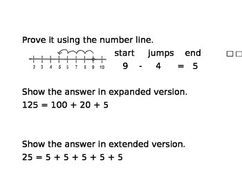 Expanded Math Answers