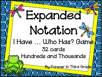 Expanded Form Game
