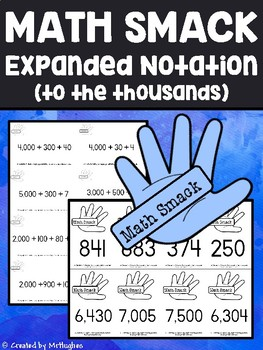 Expanded Notation - Math Smack