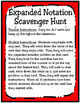Expanded Notation Scavenger Hunt (TEKS 4.2B)