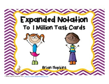 Expanded Notation to 1 Million Task Cards