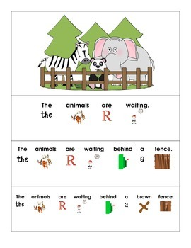 Expanded Sentences at the Zoo