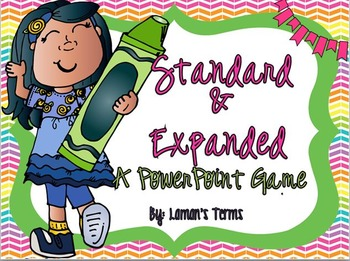 Expanded Standard Form  PowerPoint Game