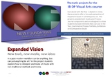 Expanded Vision - new tools, new media, new ideas - IB DP Visual Arts project