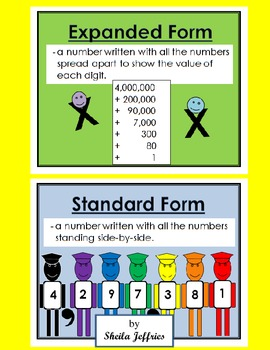 Expanded and Standard Form-2 Day Unit