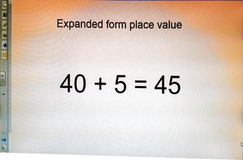 Expanded form First Grade
