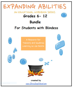 Students with Blindness Bundle for Learning Braille