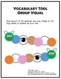 Vocabulary Tool Group Activity