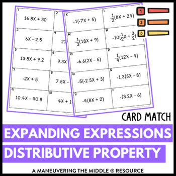 Expanding Expressions with the Distributive Property