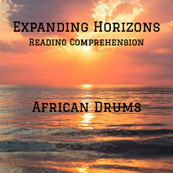 Expanding Horizons: African Drums