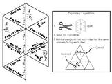 Expanding Logarithms Activity: Math Tarsia Puzzle