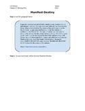 Expanding Markets and Moving West Manifest Destiny worksheet