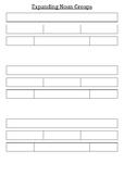 Expanding Noun Groups Template