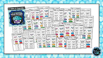 Expanding Noun Groups -  Printables {Create a cupcake}