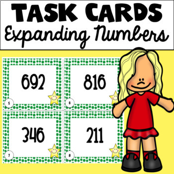 Expanding Numbers Task Cards (Hundreds Edition)