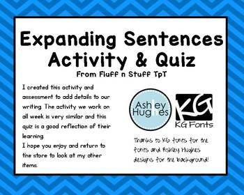 Expanding Sentences