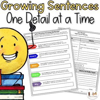 Expanding Sentences Activities