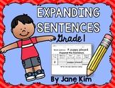 Expanding Sentences Grade 1
