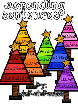 Expanding Sentences: Holiday Edition