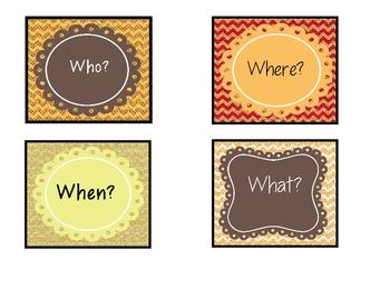 Expanding Sentences Word Cards