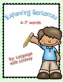 Expanding Sentences (with pacing)
