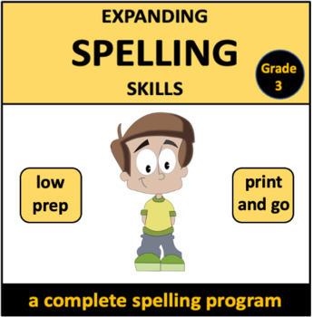 Expanding Spelling Skills: Grade 3