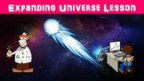 Expanding Universe No Prep Lesson with Power Point, Worksheet, and Vocabulary