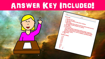 Expanding Universe No Prep Lesson with Power Point, Worksheet, and ...