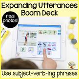 Expanding Utterances 1: Boom Cards to Increase MLU via Dis