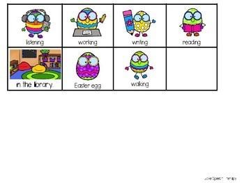 Expanding Utterances - Easter Eggs at School