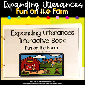 Expanding Utterances - Fun on the Farm!