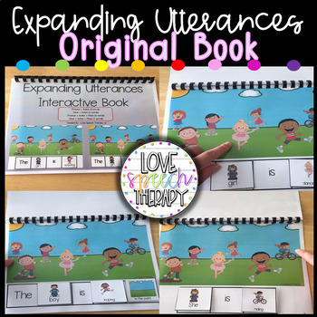 Expanding Utterances Interactive Book - Original