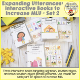 Expanding Utterances: Interactive Books to Increase MLU - Set 2
