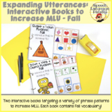 Expanding Utterances: Interactive Books to Increase MLU - Fall