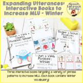 Expanding Utterances: Interactive Books to Increase MLU - Winter