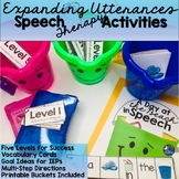 #June19HalfOffSpeech Expanding Utterances VisualsActivities Summer & Beach Theme