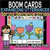 Expanding Utterances - Spring Sentence Strips