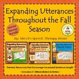 Expanding Utterances Throughout the Fall Season in Speech