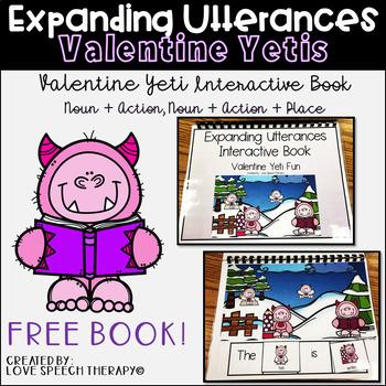 Expanding Utterances Valentine Yeti Fun