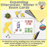 Expanding Utterances Winter 1: Boom Cards to Increase MLU