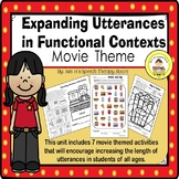 Expanding Utterances in Speech Therapy- Movie Theater Theme