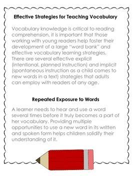 Expanding Vocabulary--Student Book