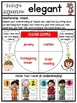 Expanding Vocabulary with Adjectives:  A Month-Long Word Study Unit