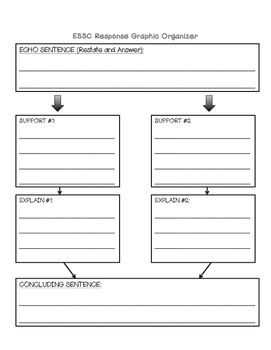Expanding Your Writing (Graphic Organizer)