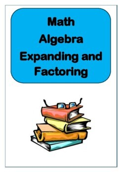 Expanding and Factoring Algebra - Math Exam Practice Questions