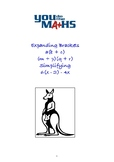 Expanding - introducing the Distributive Law and Binomial